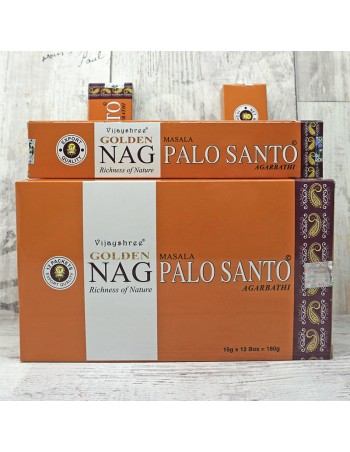 Incienso Golden Palo Santo. ref: In14406 - Inciensos naturales.