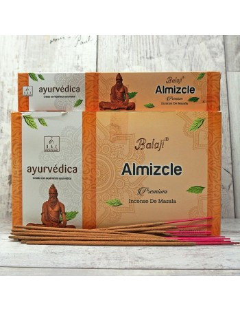Incienso Ayurveda Almizcle. In14411 - Inciensos Naturales.