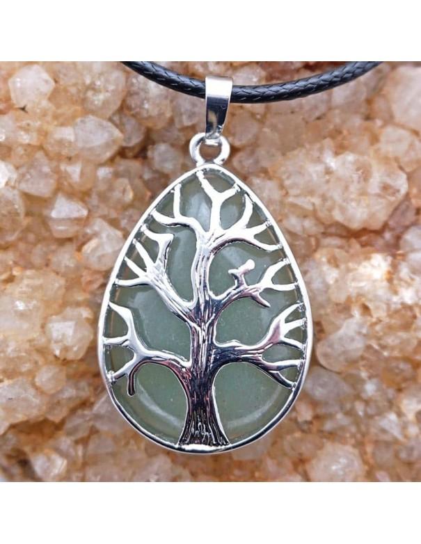 Colgante Árbol de la Vida con aventurina.