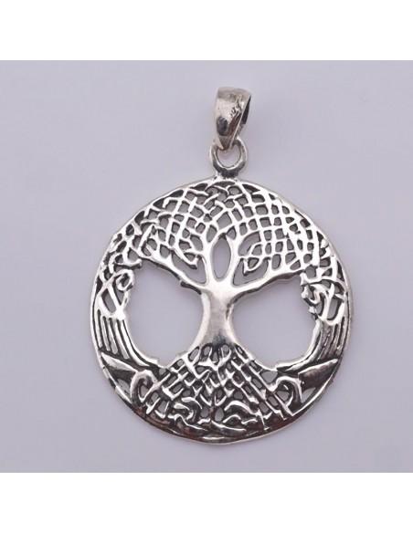 Colgante de plata Árbol de la Vida- Árbol Bodhi.