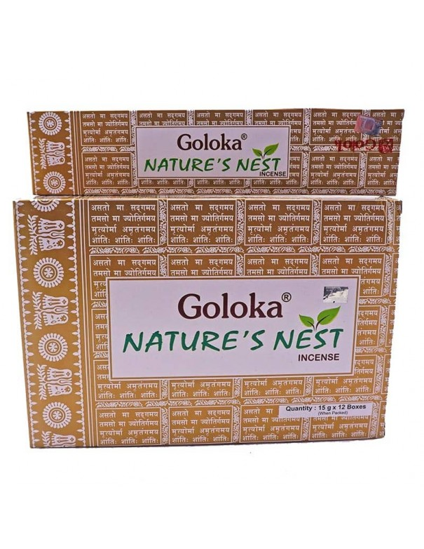 Incienso natural-Goloka Nature´s Nest