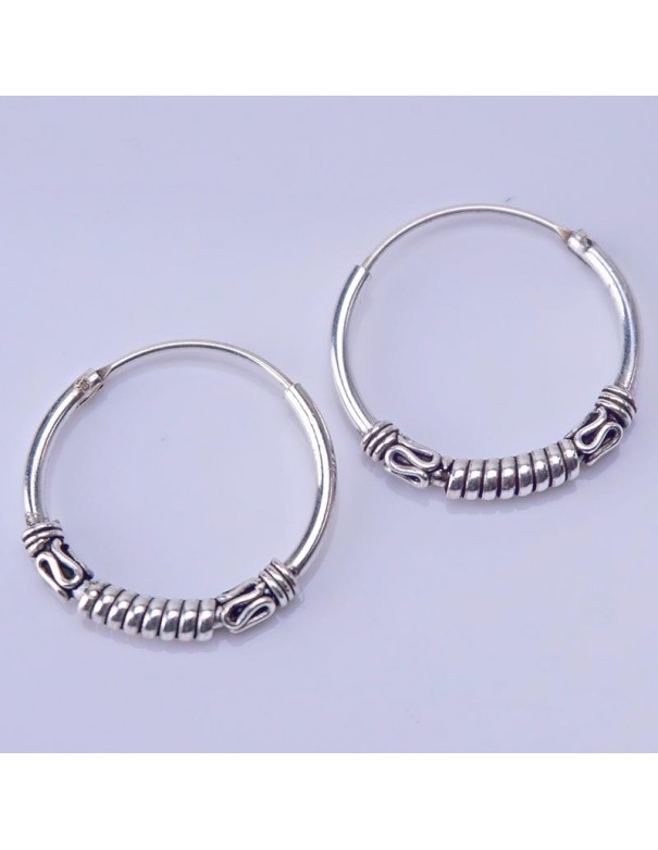 Piercing de plata 16mm- Aros de plata.