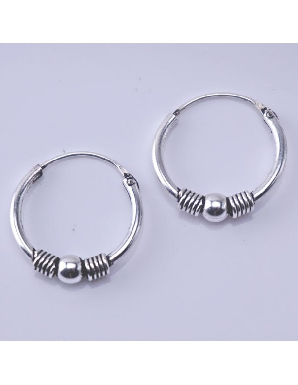 Piercing de plata 14mm- Aros de plata.