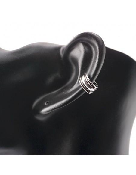 Piercing de oreja 10mm- Joyas de plata.