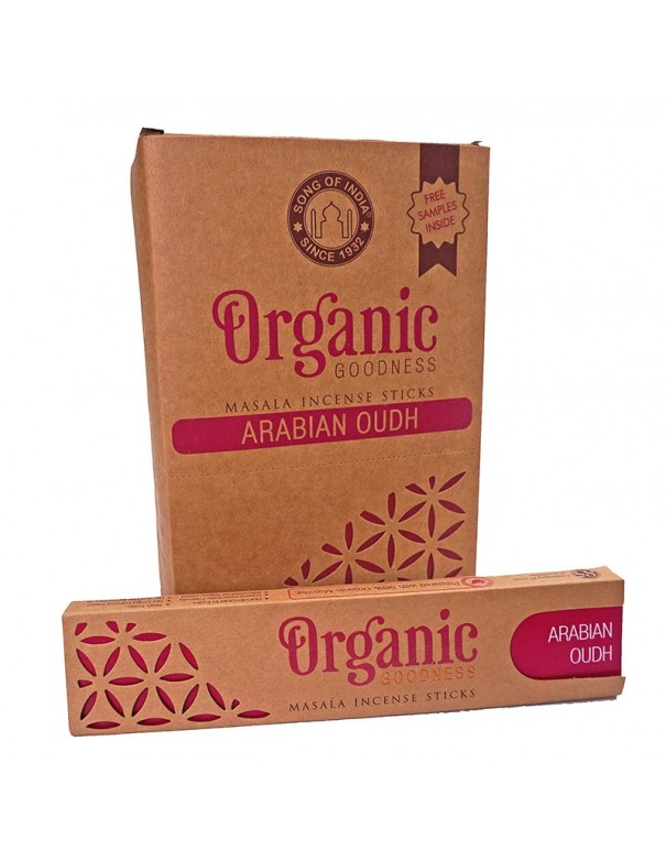Incienso orgánico Oudh