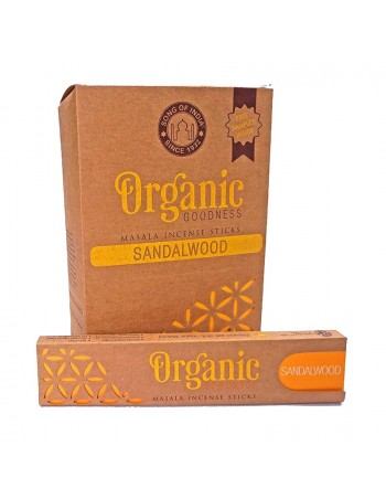 Incienso orgánico madera de sándalo.