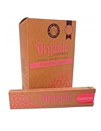 Incienso orgánico natural Frankincence. Enrollado a mano.