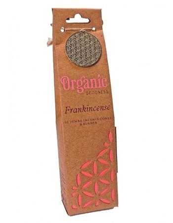Conos de incienso orgánico Frankincence.