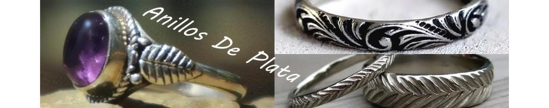 """Los """"anillos de plata"""" mujer más originales en nuestra joyería online."""